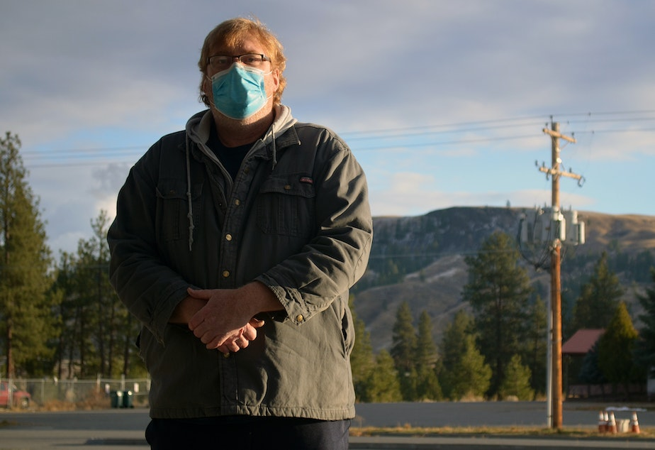 caption: Larry Smith is a doctor on the Colville Reservation and runs two of its four clinics.