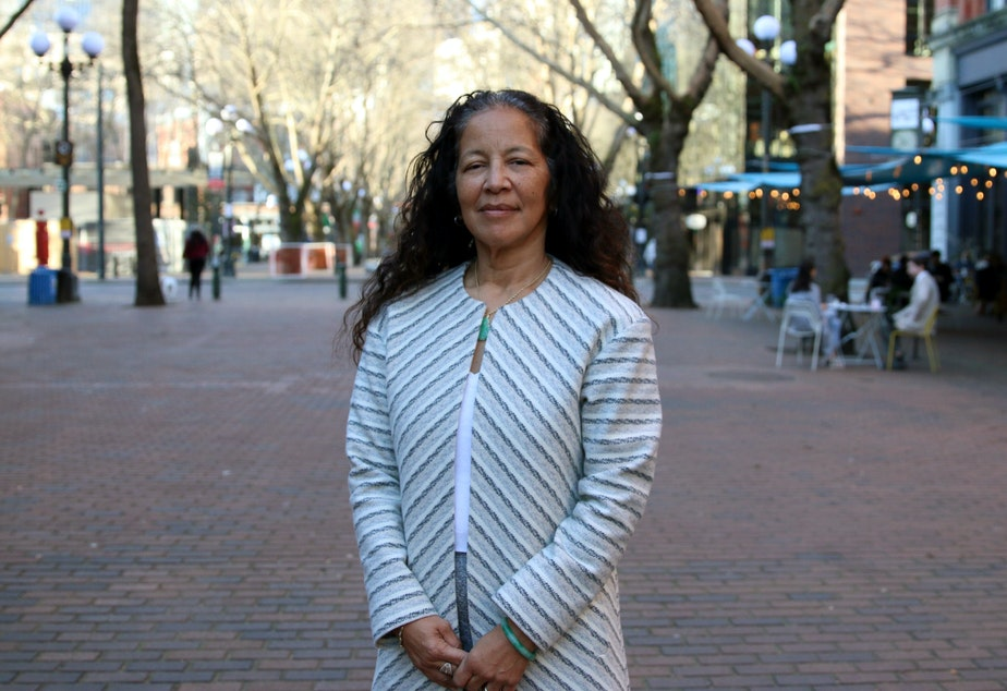 caption: Pamela Banks, Interim Director for Office of Economic Development, is playing an important role in helping chart the city's path to economic recovery