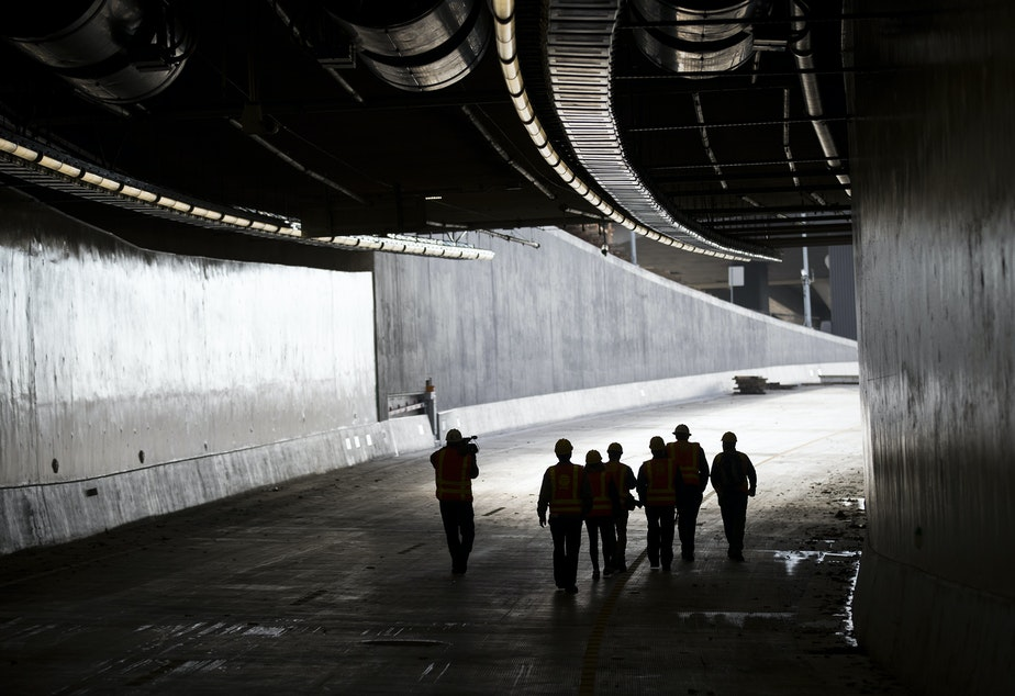 Seattle's new waterfront tunnel makes some people anxious
