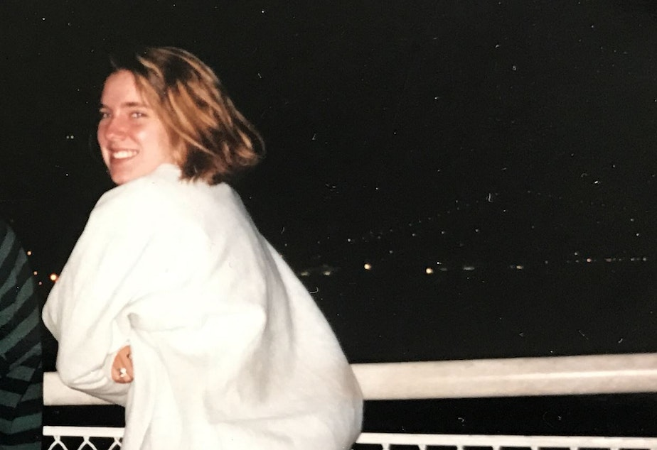 Seattle artist Mandy Greer the summer before older sorority sisters took her to a fraternity party where she blacked out and found herself mostly naked in the shower. That night has stayed with her.