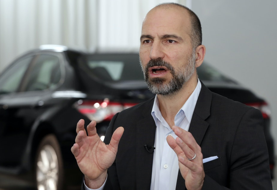 Uber CEO Dara Khosrowshahi said Tuesday that the push to increase regulations on tech companies may be warranted.