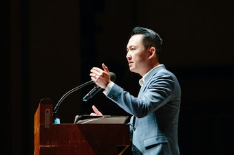 Author Viet Thanh Nguyen at Benaroya Hall