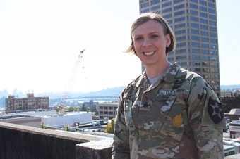 Staff Sgt. Patricia King serves at Joint Base Lewis-McChord