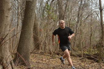 The avid runner and author of <em>The Incomplete Book of Running</em> moonlights as Peter Sagal, host of NPR's <em>Wait Wait ... Don't Tell Me!</em>