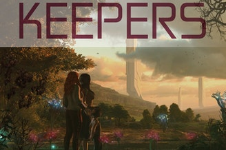Brenda Cooper's latest sci-fi novel 'Keepers' follows two sisters trying to save the Northwest wilderness after ecological disasters destroy much of the land.
