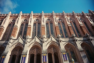 University of Washington's Suzzallo Library.