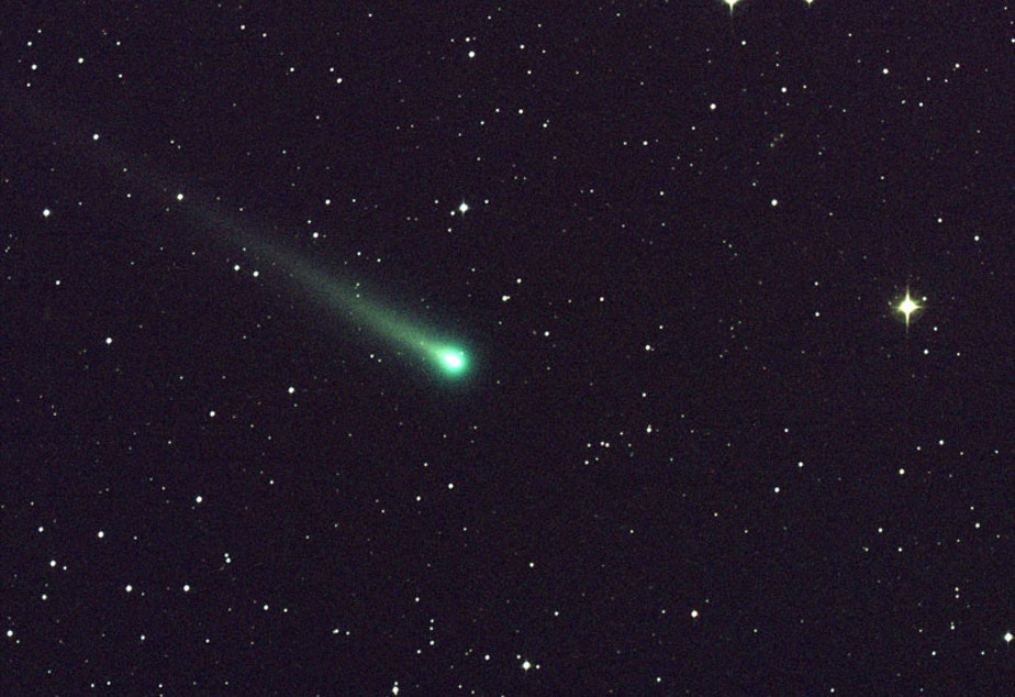 caption: Comet ISON passed through Virgo earlier this month.