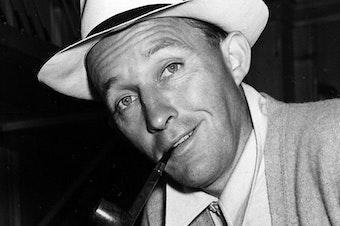 Crooner Bing Crosby in 1942.