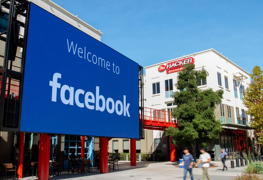 caption: Facebook's decision to label state-controlled media is part of an effort to take a more assertive stance against misinformation in advance of the 2020 U.S. presidential election.