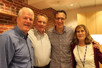 L-R: Brian Baird, Paul Guppy, Bill Radke, Joni Balter
