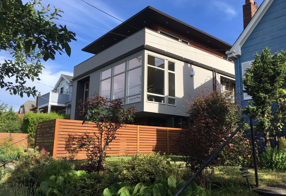 caption: At 3180 square feet, this 2016 Ballard home could not be built in a Single Family Zone under proposed new rules capping home sizes in Seattle.