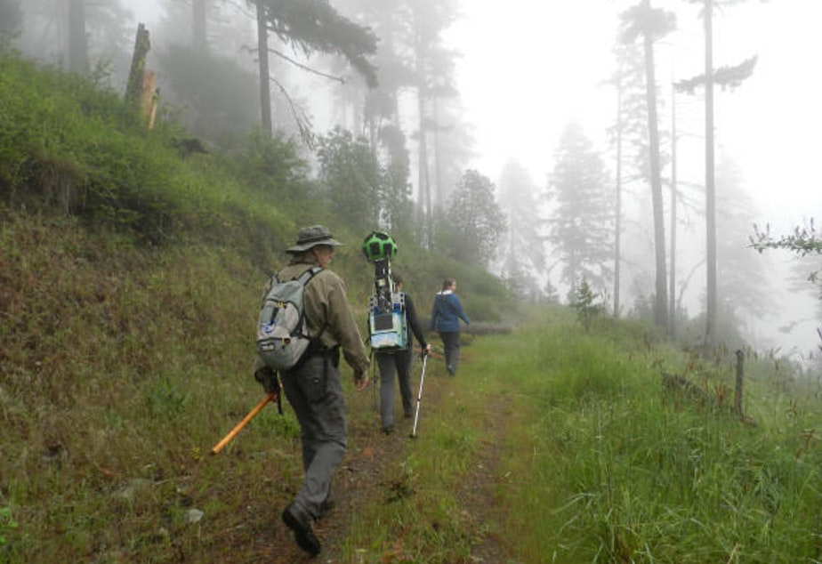 KUOW - Oregon Trails Now Available In 360 Glory On Google Maps