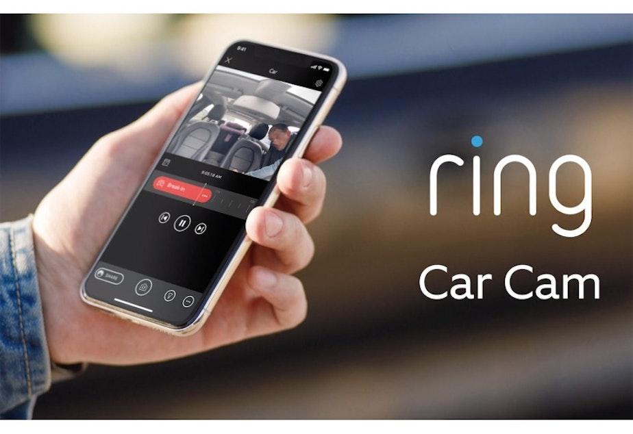 caption: Amazon's Ring Car Cam