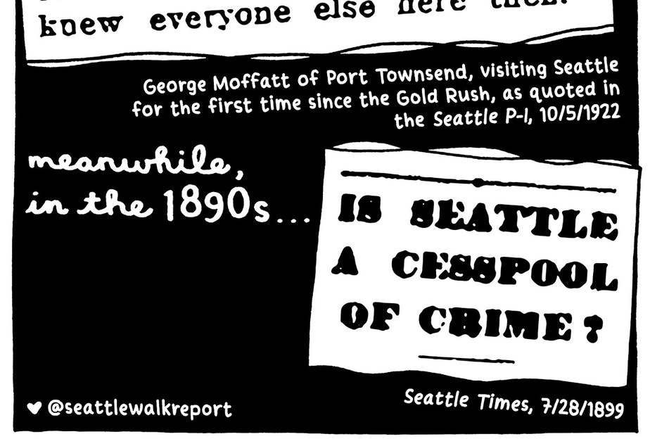 walk report In 1922, apparently Seattle was best in 1897