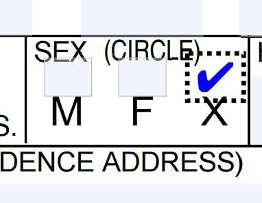 Which states have non binary id options