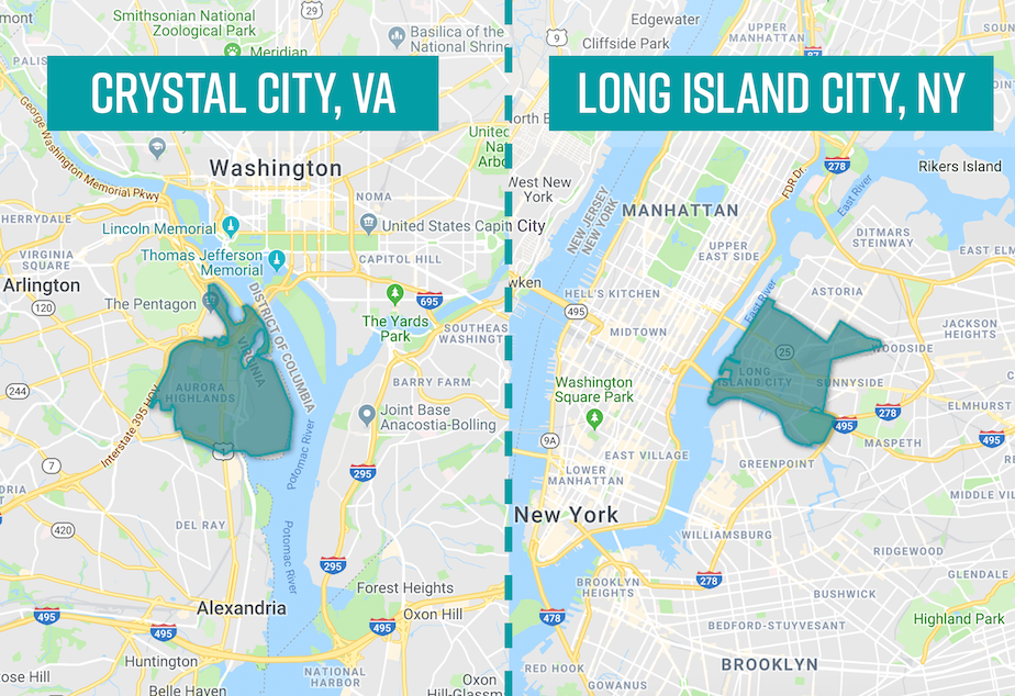KUOW - Amazon HQ2 (and 3): The winners are Northern Virginia ... I Map Of Cities In Virginia on map of cities by virginia, thomas charles city county virginia, street map virginia, map of mountains in virginia,