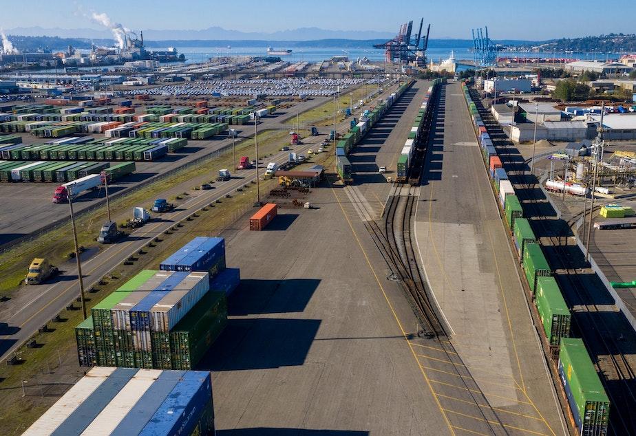 caption: The Port of Tacoma