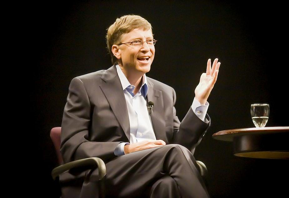 caption: Bill Gates.