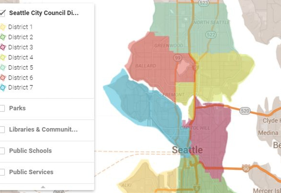KUOW - Get To Know Your New Seattle City Council District