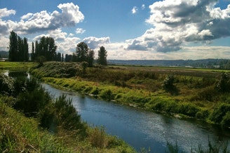 The Sammamish River Valley.