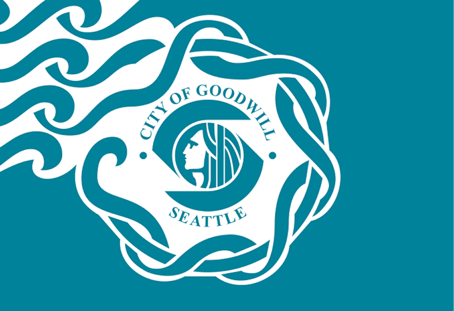 Seattle's city flag.