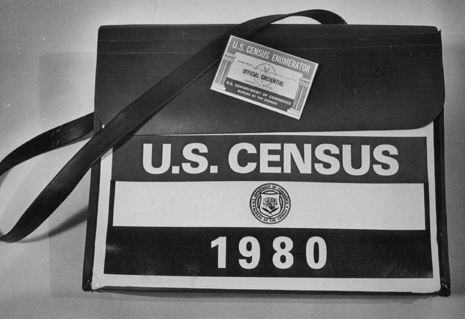 """caption: Weeks before the 1980 census officially began, the Federation for American Immigration Reform launched its campaign to exclude unauthorized immigrants from population counts that, according to the Constitution, must include the """"whole number of persons in each state."""""""