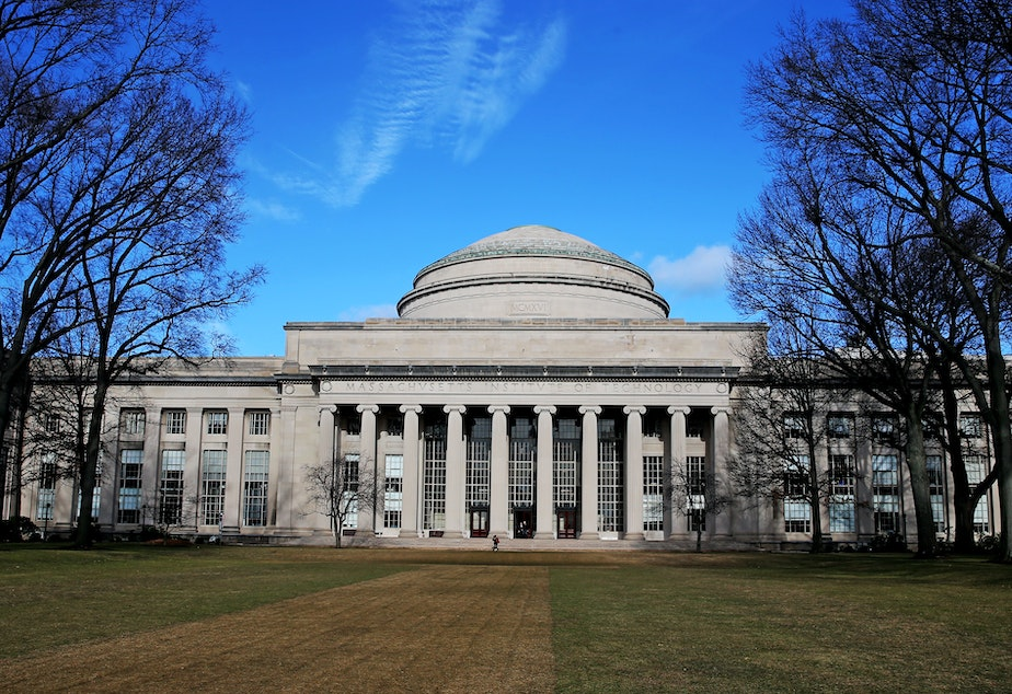 caption: The Massachusetts Institute of Technology is one of more than 300 colleges to endorse a statement about how admissions deans with evaluate applications during the coronavirus crisis.