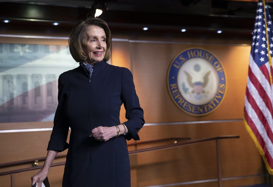 caption: Incoming House Speaker Nancy Pelosi, D-Calif.