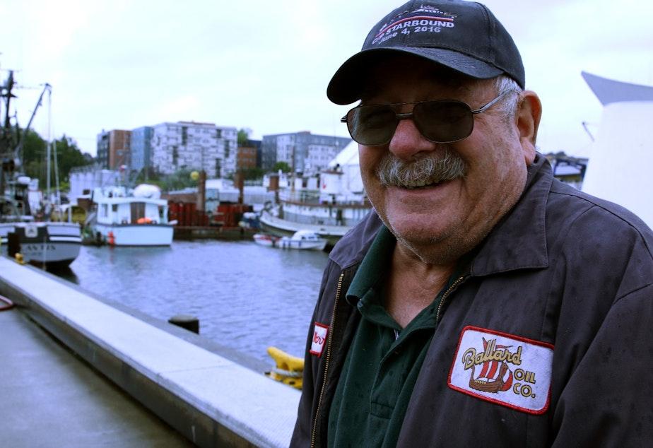 Warren Aakervik of the Ballard Oil Company