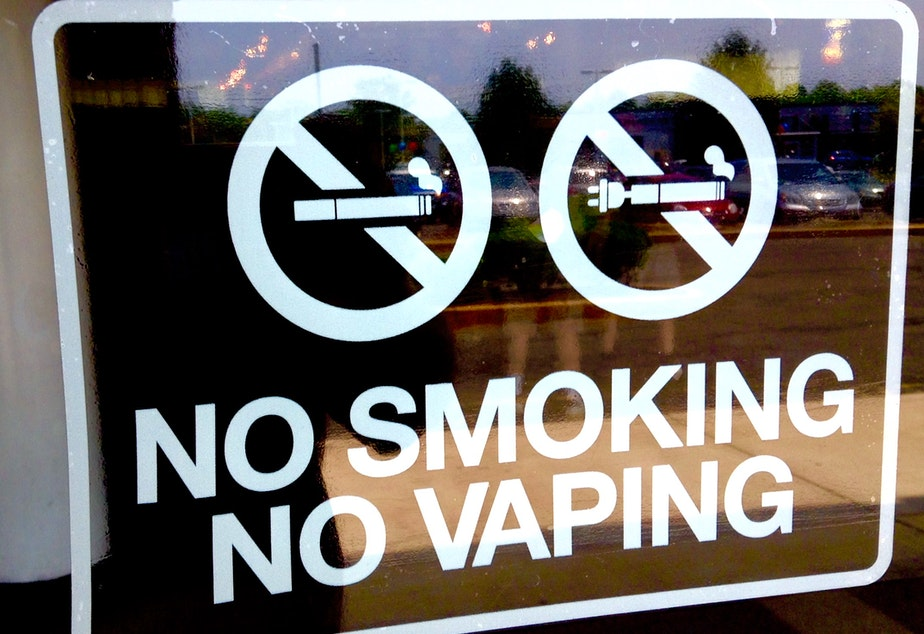 caption: Washington could become the 7th state to raise the purchase age for tobacco and vaping products to 21