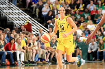 Sue Bird has more starts than any other player in the WNBA.