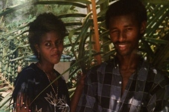 The author's parents, Fetiha Omer and Abdul-Basit Hassan, in Somalia