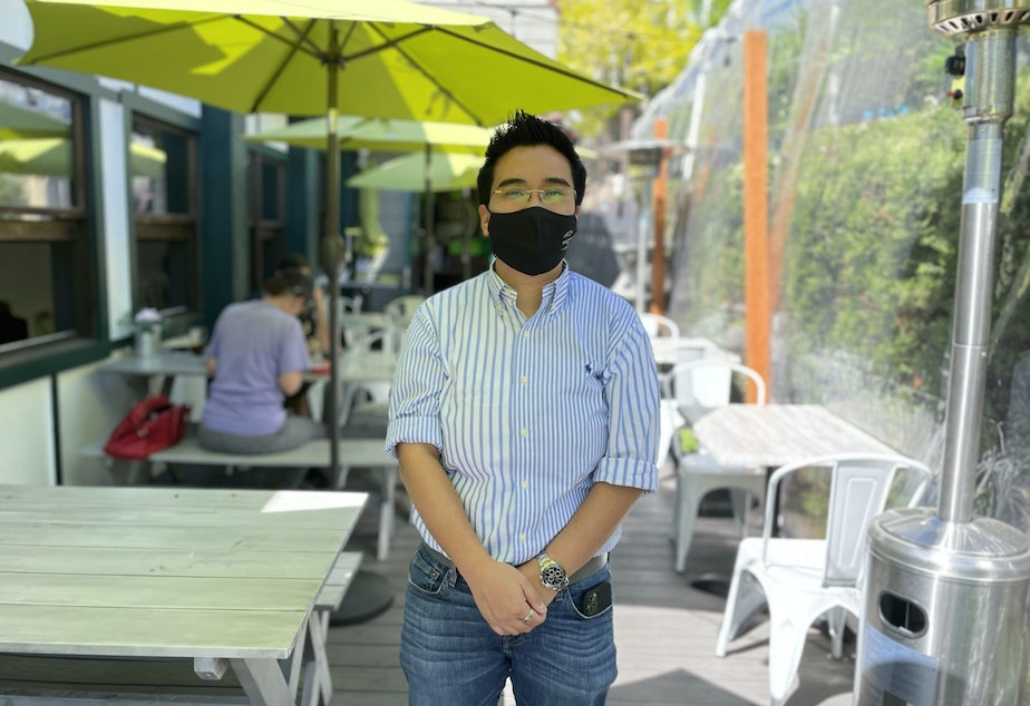 caption: Kay Fuengarom is one of the owners of Fern Thai in Bellevue