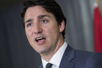 """Canadian Prime Minister Justin Trudeau says his intelligence services have reviewed an audio recording of the death of journalist Jamal Khashoggi in Istanbul. He also thanked Turkish President Recep Tayyip Erdogan for his """"strength"""" in response to the case."""