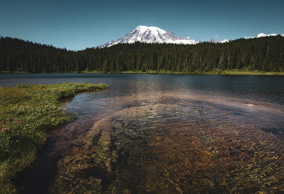 Ryan Stone Mount Rainier Unsplash