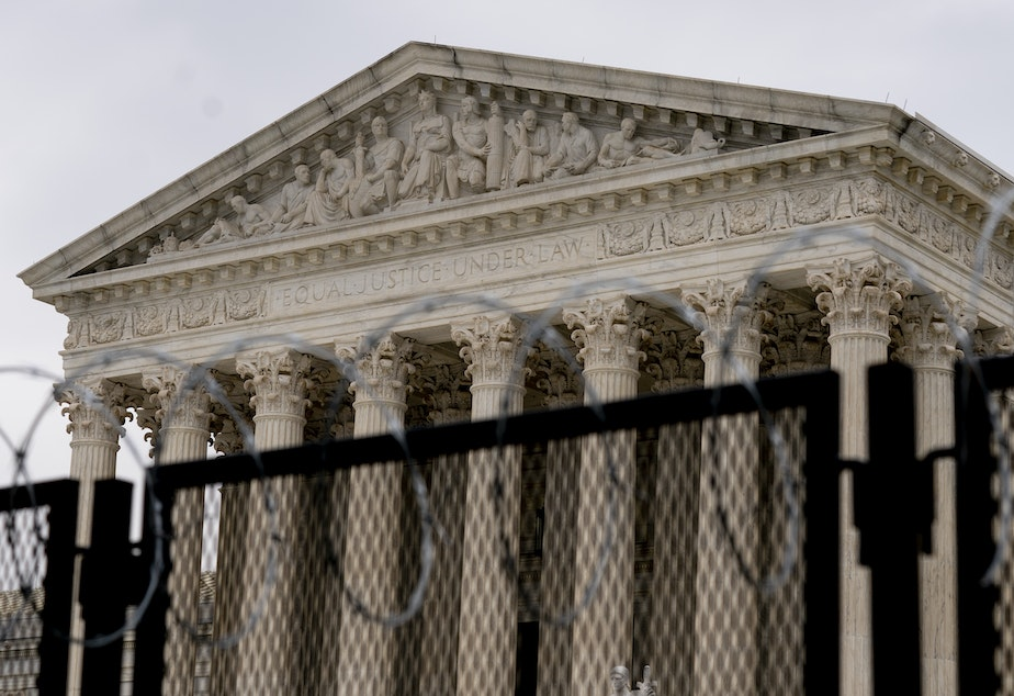 caption: The U.S. Supreme Court will take up a challenge to Trump-era abortion rules.