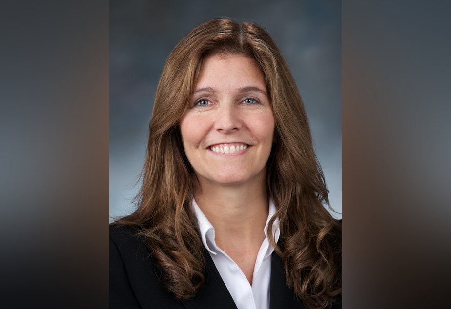 caption: Des Moines Representative Tina Orwall helped craft the new law that allows all Washington State adoptees access to their original birth records.