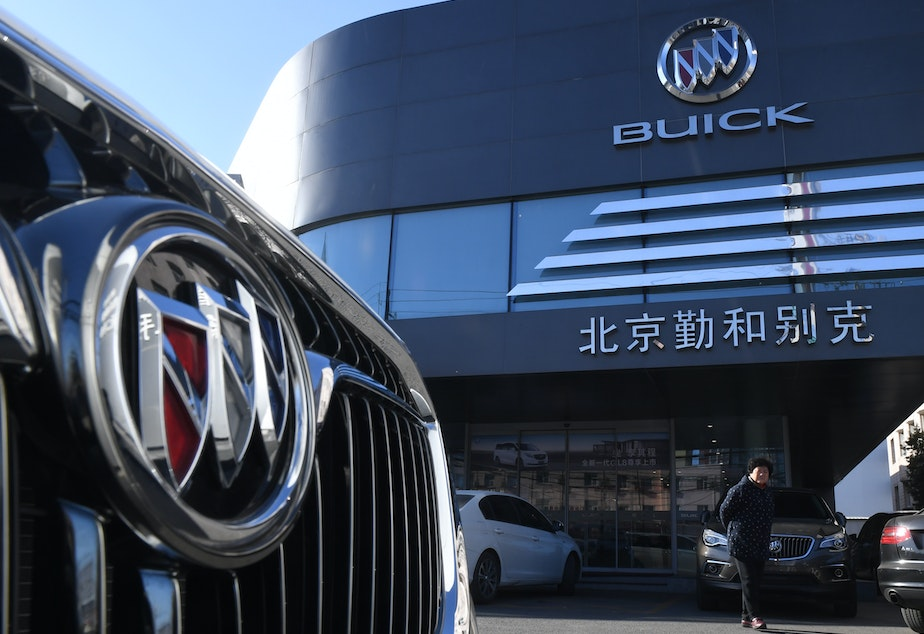 caption: China announced it is imposing new tariffs on imported U.S. autos and auto parts, due to go into effect Dec. 15.