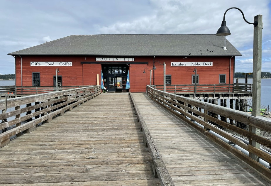 caption: The historic Coupeville Wharf