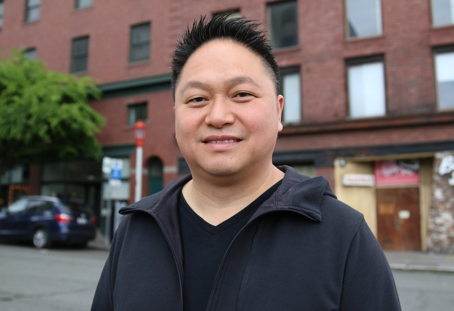 caption: James Wong, CEO of Vibrant Cities, developer of The Jasmine