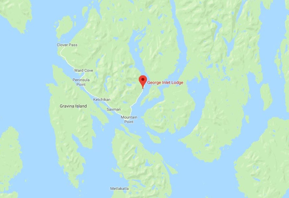 KUOW - 4 dead, 2 missing in float plane crash above Alaska Ketchakan Alaska Detailed Map Of on
