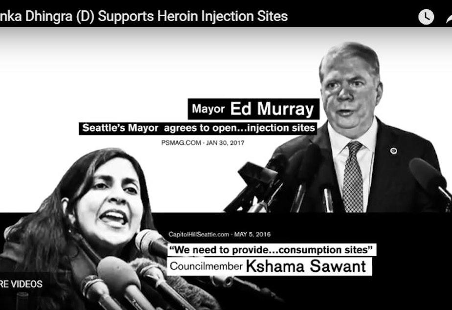 Attack ad targetting Democrat and Washington State Senate candidate Manka Dingra