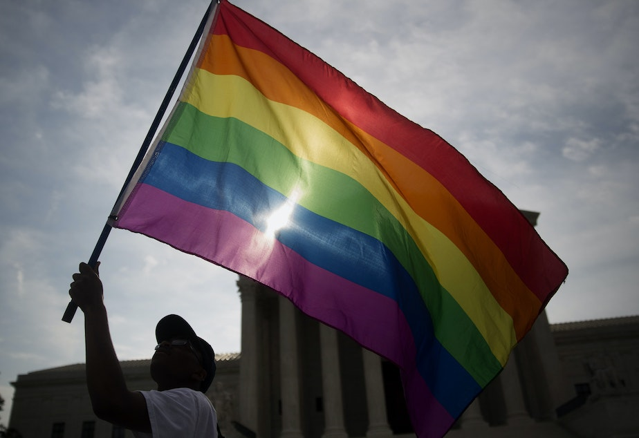 What are the reasons for the dramatic decline in anti-gay bias in the United States? Photographer: Andrew Harrer/Bloomberg via Getty Images