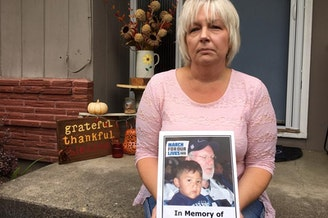Carla Tolle's 13-year-old grandson Edgar Vazquez of Kelso, Washington was killed in an accidental shooting involving an unsecured shotgun. She is now campaigning for I-1639.