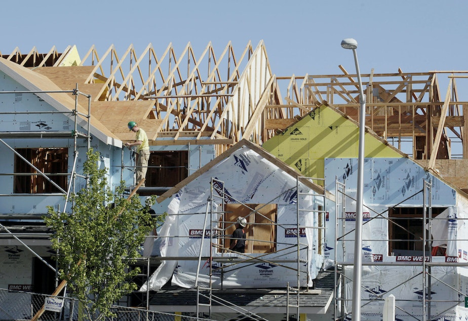 File photo. Seattle's rental housing market shows more availability than other areas of Washington, like Kittitas and Yakima counties, where new construction hasn't kept up with demand.CREDIT: TED S. WARREN/AP