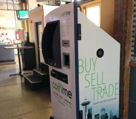 A Bitcoin Atm Was Installed Inside Spitfire Grill In Seattles Belltown Neighborhood