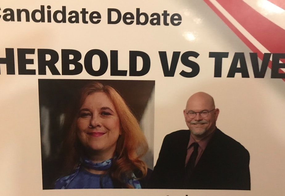 Incumbent Lisa Herbold and challenger Phil Tavel faced off in a debate in their District 1 Seattle City Council race.