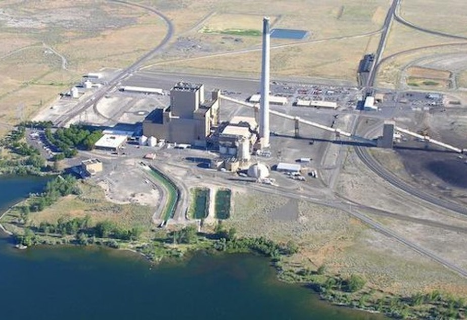 caption: <p>Portland General Electric's coal-fired Boardman Power Plant along the Columbia River.</p>