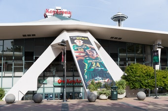 Seattle's Key Arena was rebuilt from the ground up in 1994-1995, and started hosting the WNBA Seattle Storm in 2002.