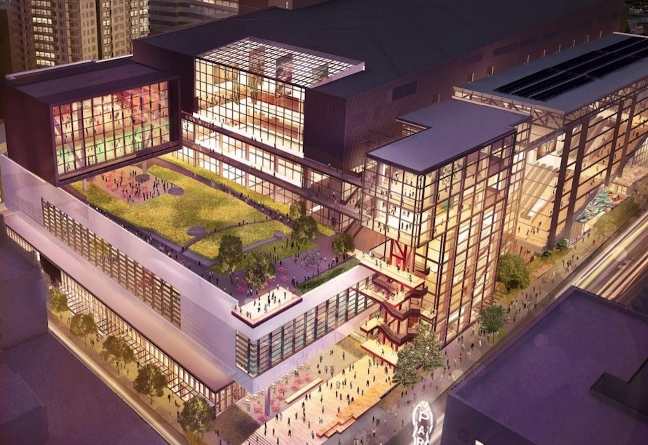 KUOW - Washington State Convention Center expansion still
